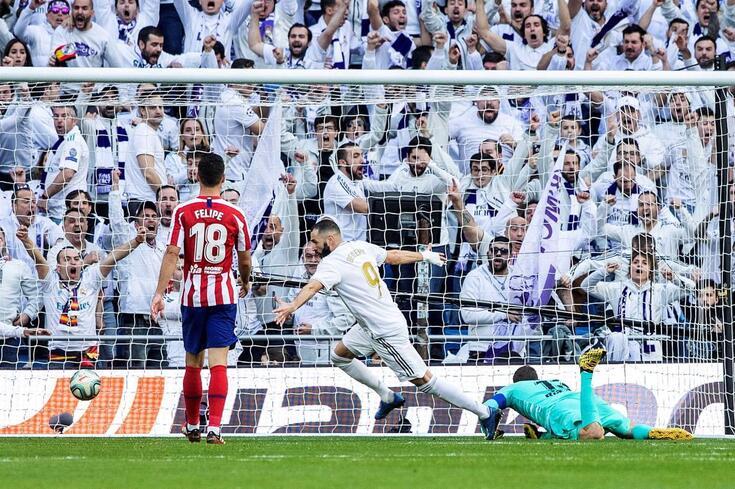 Benzema em grande destaque no Real Madrid