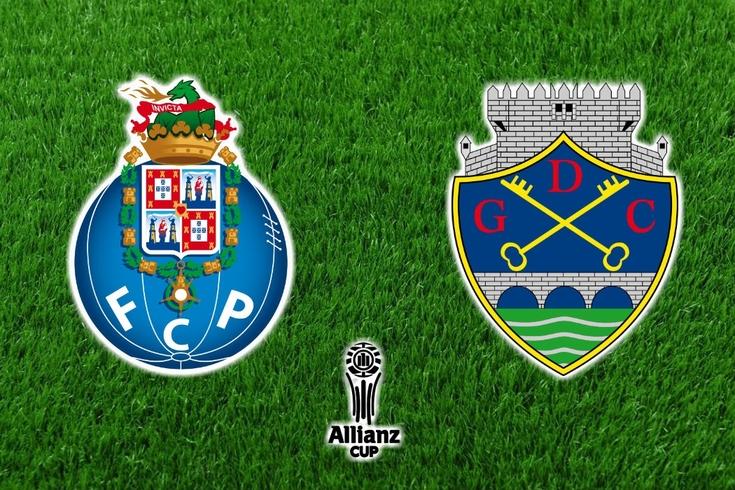 DIRETO | FC Porto e Chaves empatam no arranque da Taça da Liga