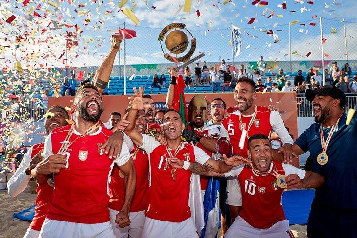 Braga conquista terceira Euro Winners Cup consecutiva