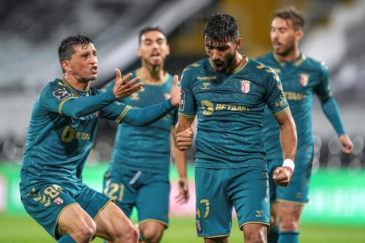 Esgaio marcou o único golo do jogo
