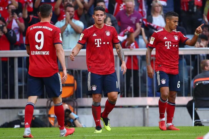 Renato Sanches no banco e o Bayern já segue sozinho... antes do Benfica