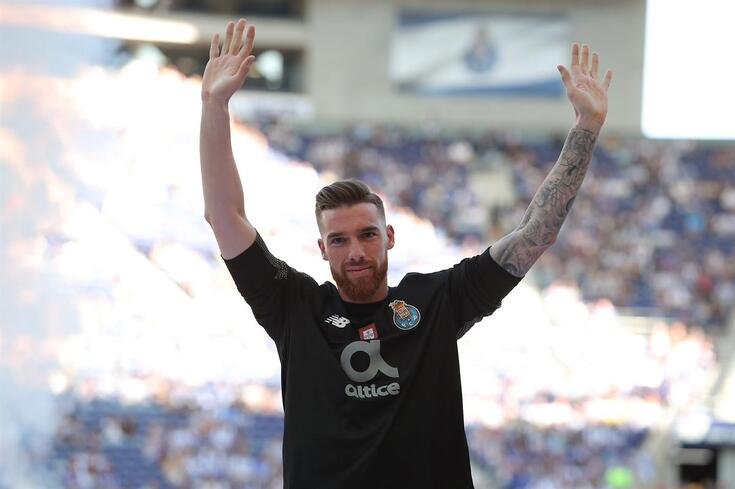 José Sá foi oficializado e deixou mensagem de despedida ao FC Porto