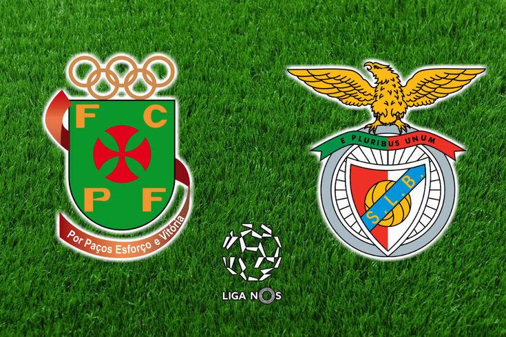DIRETO | Paços de Ferreira-Benfica