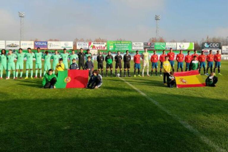 Sub-18  Portugal perdeu com a Espanha ad00c50ea4bdb