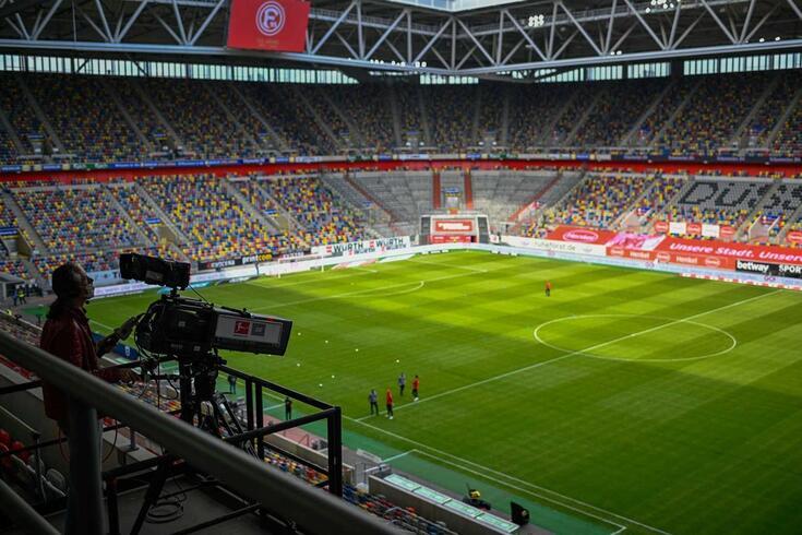 Futebol na televisão
