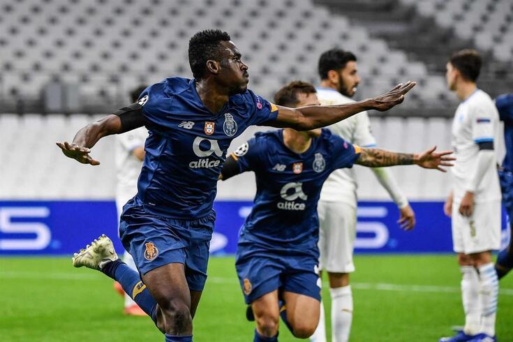Vitória do Porto em Marselha, a um ponto das oitavas de final da Liga dos Campeões