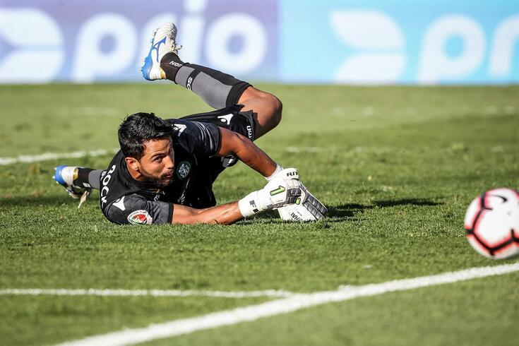 Renan, guarda-redes do Sporting