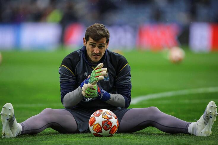Iker Casillas, guarda-redes do FC Porto