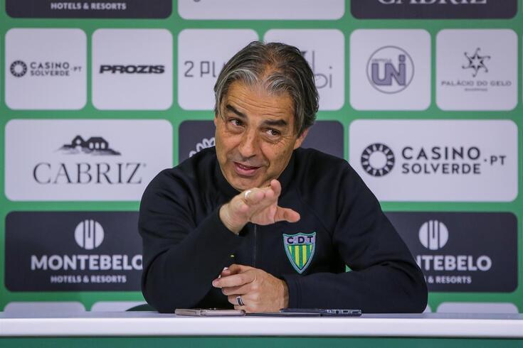 Natxo González, treinador do CD Tondela