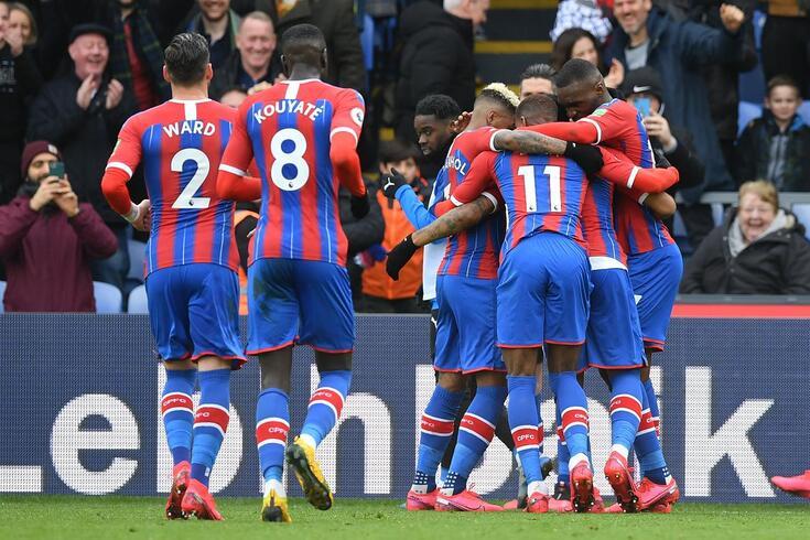 Crystal Palace ocupa o 11.º lugar da Premier League