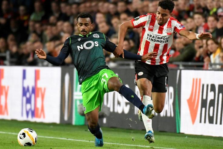 Sporting batido por 3-2 pelo PSV Eindhoven