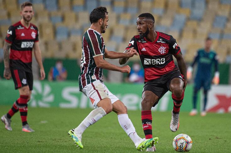 DIRETO   Fluminense-Flamengo
