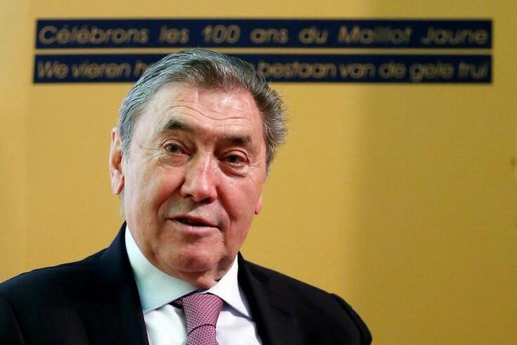 Eddy Merckx é uma figura histórica do ciclismo