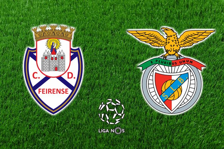 feirense - Benfica
