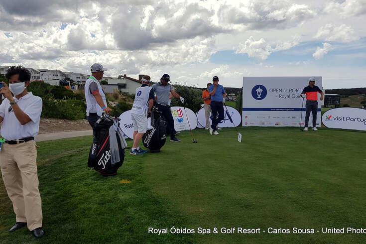 Golfe: Open de Portugal interrompido pelo vento é reatado este sábado