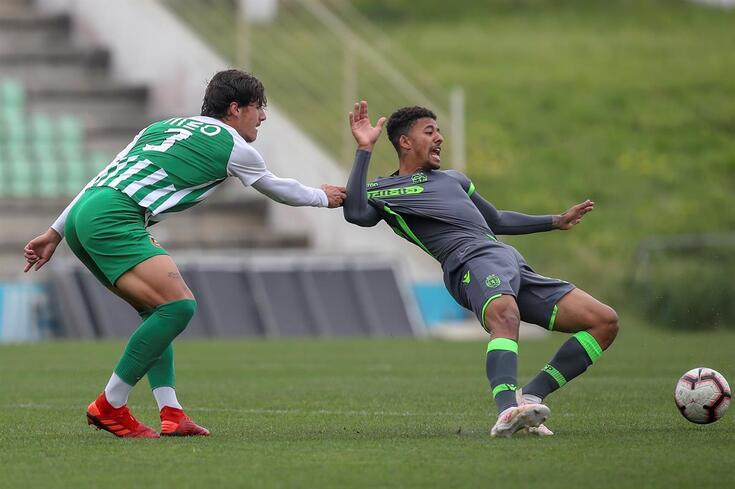 Paulinho na equipa sub-23 do Sporting