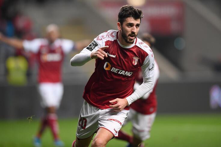 Paulihno fez o primeiro golo do Braga