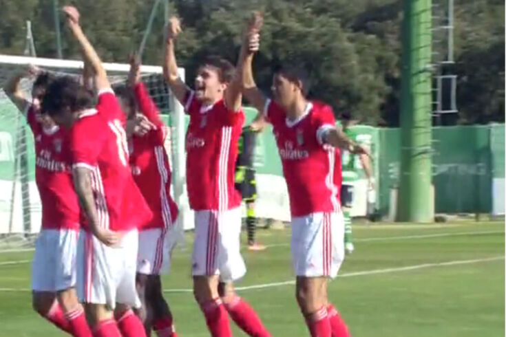 Agora o dérbi de sub-23: golos anulados, Jovane e vitória do Benfica