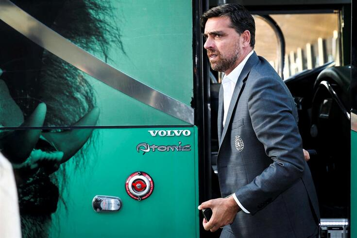 Beto Severo, team manager do Sporting.