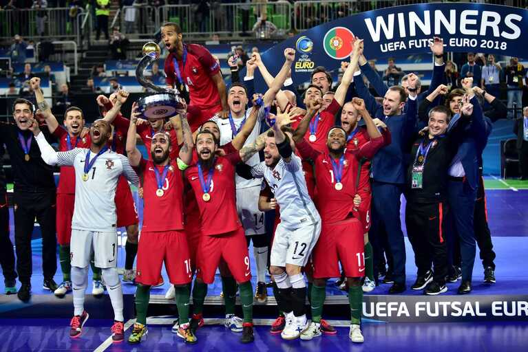 O título europeu de futsal passou por aqui 43a90495028b4