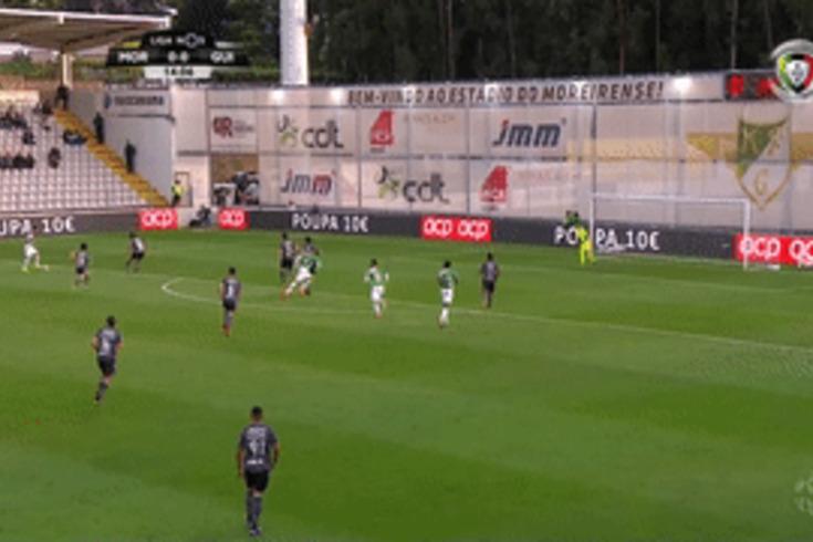 Moreirense-V. Guimarães: Texeira abre o marcador e pede desculpa