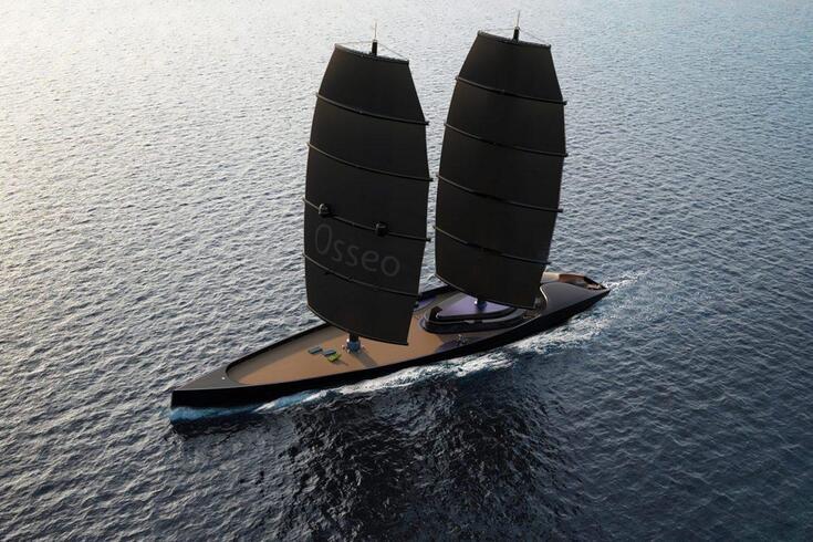 Este iate híbrido ultraleve revoluciona o luxo em alto mar