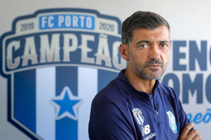 Sérgio Conceição em grande entrevista a O JOGO