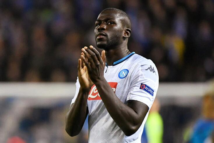 Koulibaly, central do Nápoles
