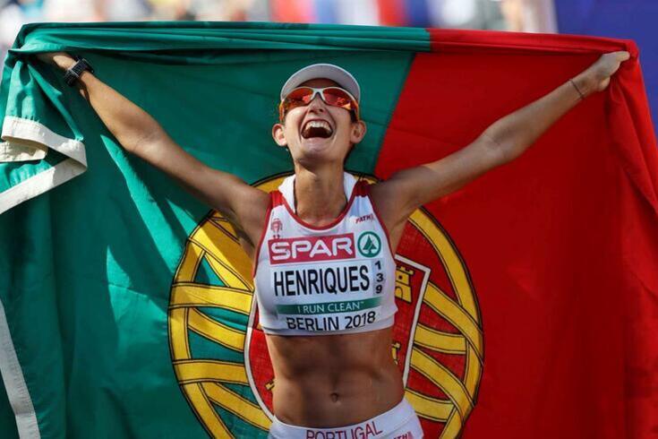 Inês Henriques medalha de bronze na Taça da Europa