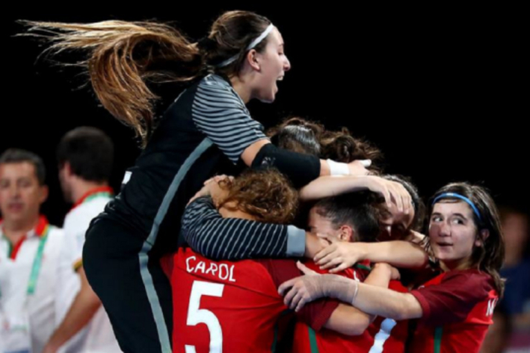 392e72ffb7 Seleção feminina de sub-19 conquista ouro nos Jogos Olímpicos da Juventude