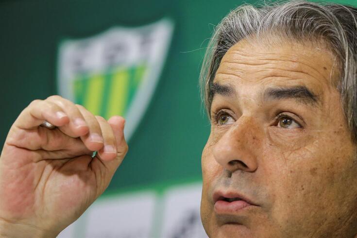 Tondela, 12/03/2020 - Entrevista com Natxo González, treinador do CD Tondela, no Estádio João Cardoso