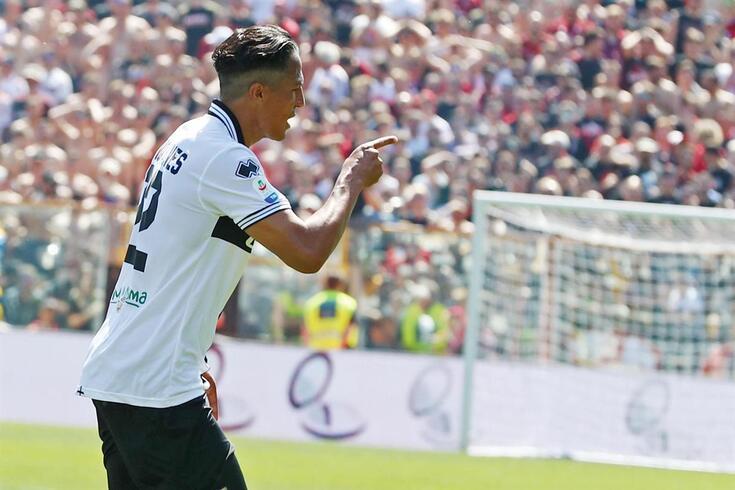 Bruno Alves esteve em grande destaque pelo Parma