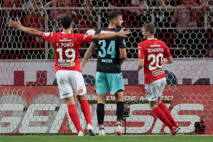Ponce e Schurrle marcaram os golos do Spartak