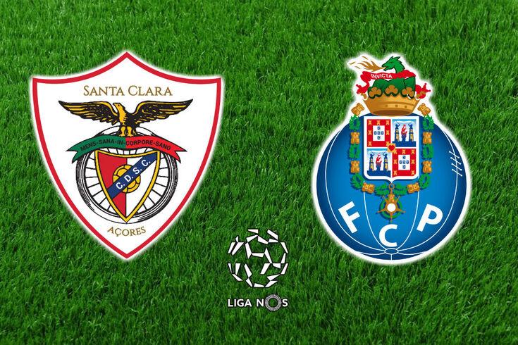 DIRETO | Santa Clara-FC Porto