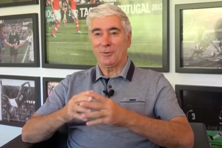 Bernardino Pedroto, novo diretor do futebol feminino do Vitória de Guimarães