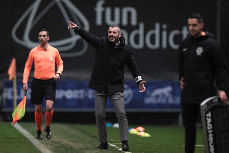 Ivo Vieira, treinador do V. Guimarães.