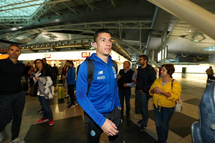 Matheus Uribe cumpre a primeira época no FC Porto, tal como Luis Díaz