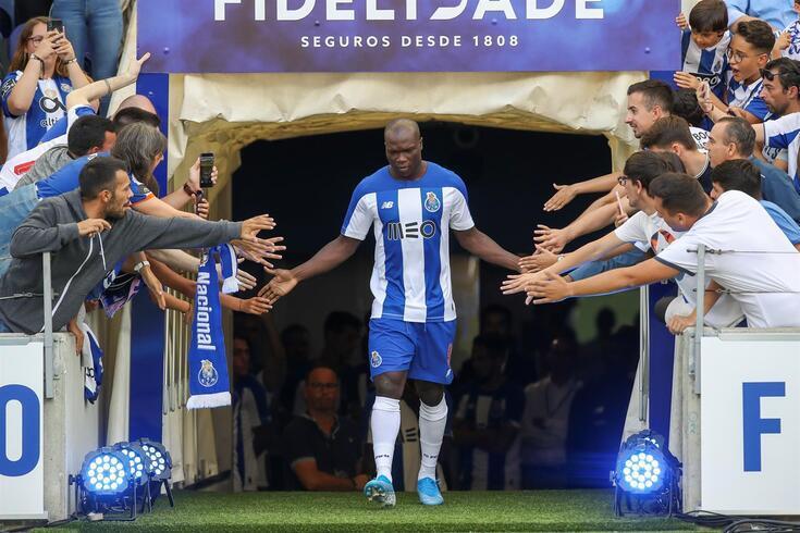 FC Porto despede-se de Aboubakar com estas imagens nas redes sociais