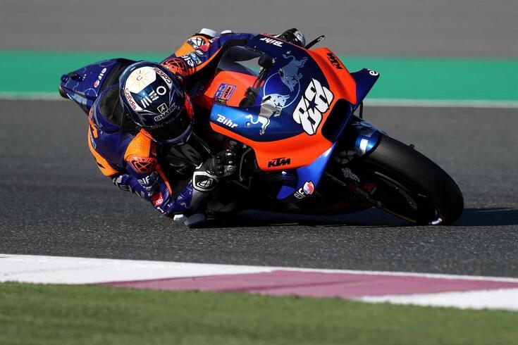 Recorde as incidências da segunda corrida de Miguel Oliveira em MotoGP