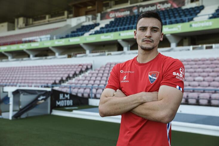 Guilherme Mantuan reforça o Gil Vicente