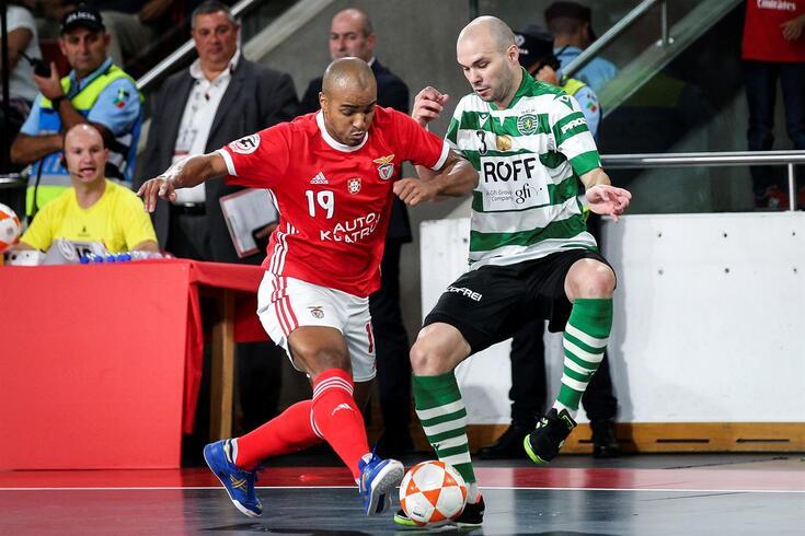 Benfica venceu e Sporting empatou