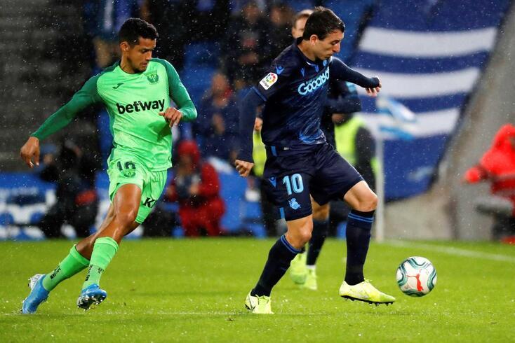 Real Sociedad empatou frente ao Leganés
