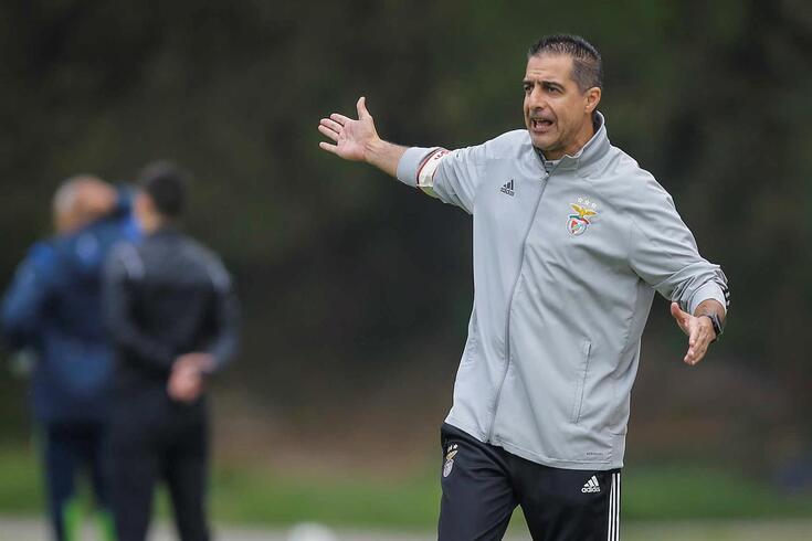 Renato Paiva, treinador do Benfica B