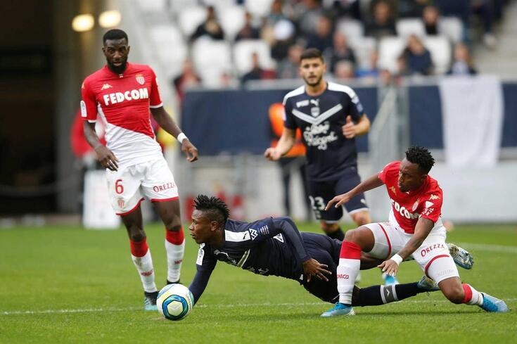 Gelson Martins marcou o golo da vitória do Mónaco.