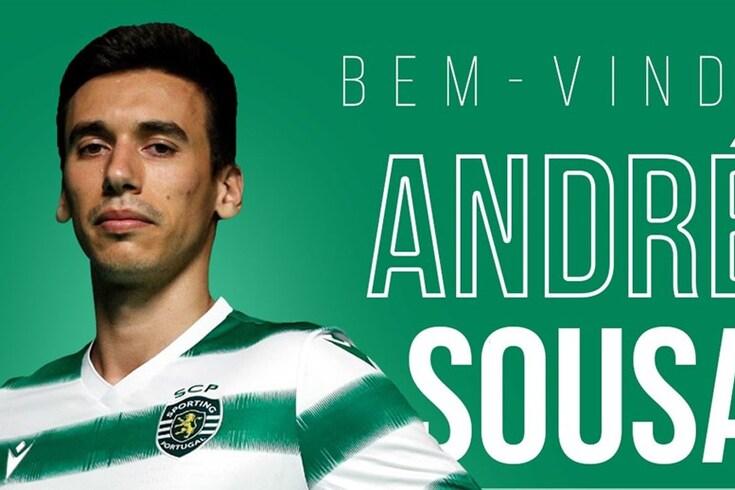 Central André Sousa reforça equipa de voleibol do Sporting e não esquece o pai