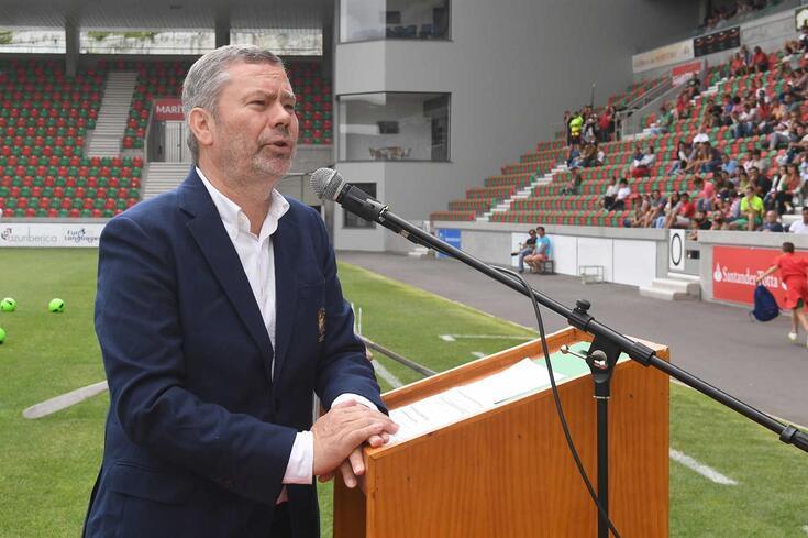 Carlos Pereira, presidente do Marítimo