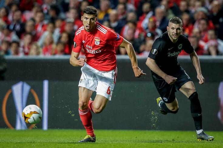 Rúben Dias, defesa-central do Benfica