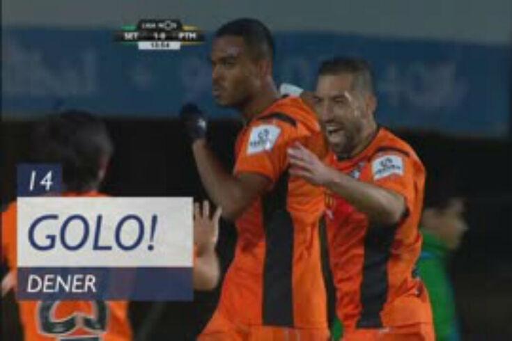 V. Setúbal-Portimonense: Nakajima encontra Dener para o golo do empate