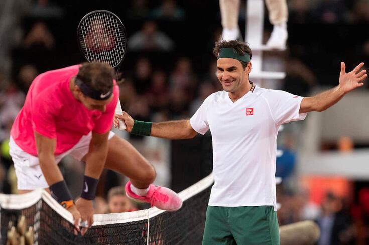 Rafael Nadal e Roger Federer
