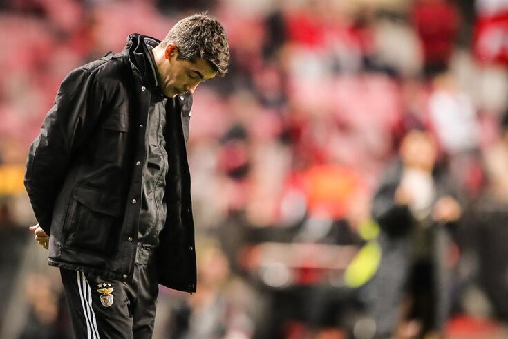 Bruno Lage deixa o comando técnico do Benfica